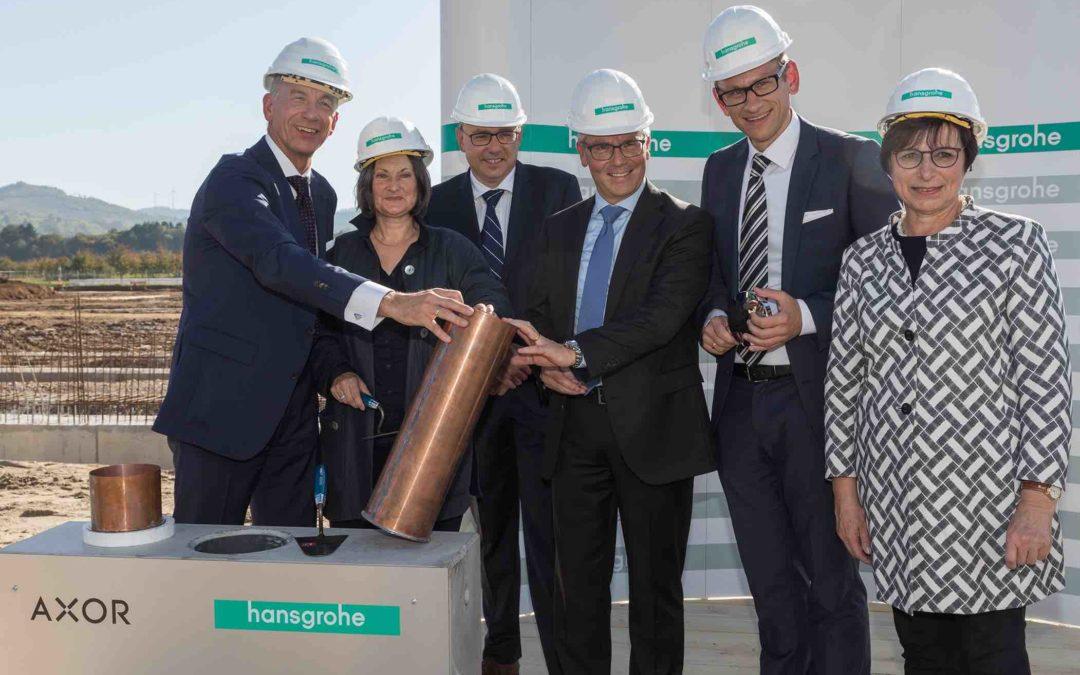 30 Mio. für neue Galvanik Hansgrohe