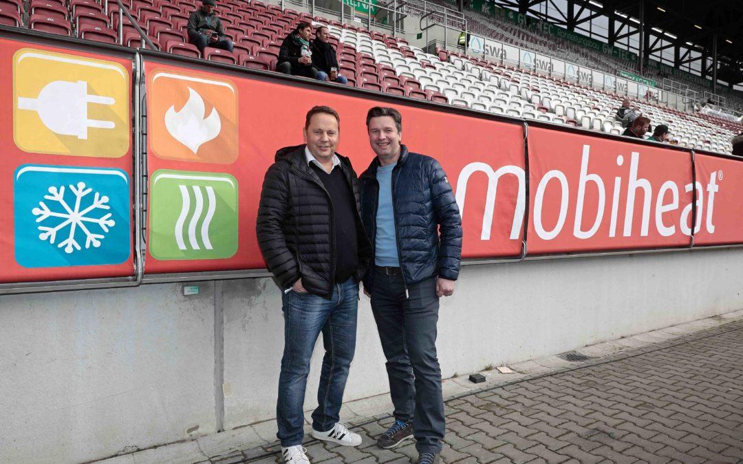 Weiterer Sponsor für den FC Augsburg Nicht nur Grünbeck