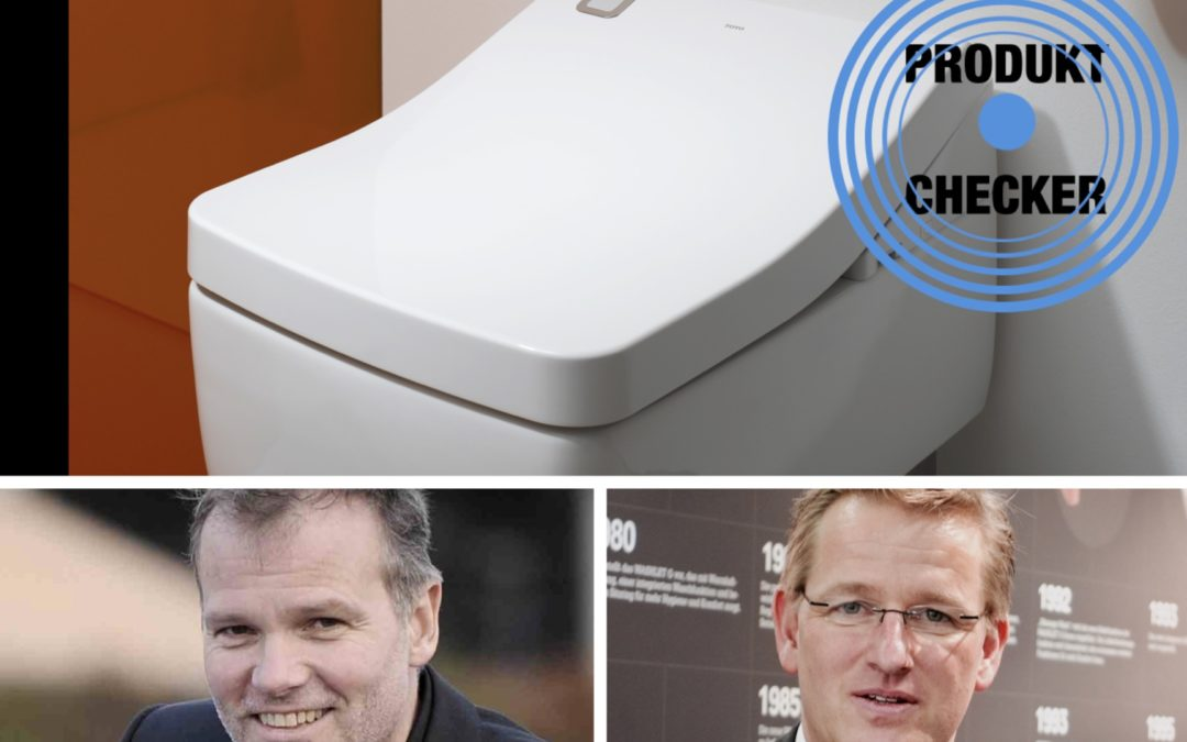 """""""Schnipp und weg"""" Produktchecker checkt das Dusch WC SG Toto"""