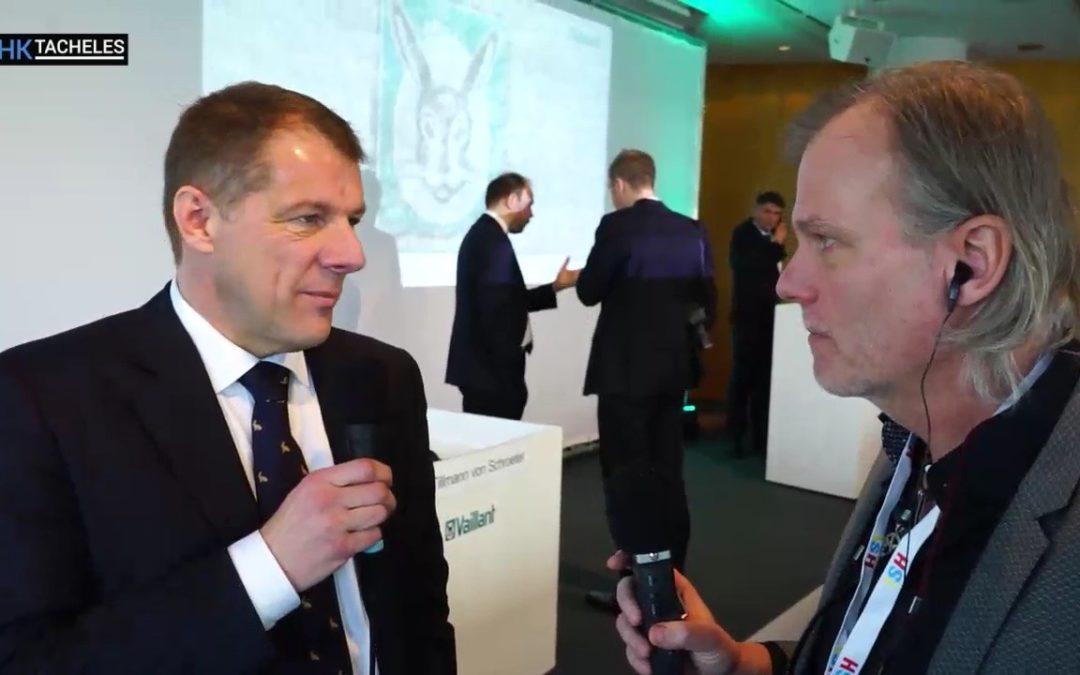 Fokus auf Wärmepumpe TV Interview mit Dr. Carsten Voigtländer Vorsitzender der Geschäftsführung