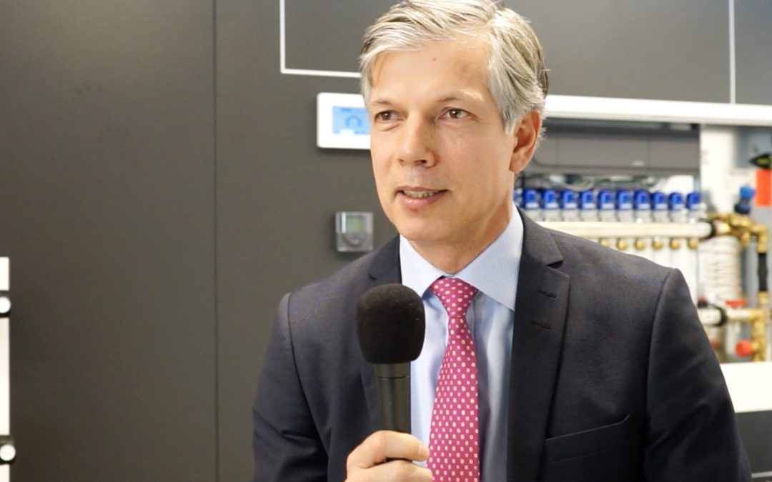 """Knaller für 2018"" TV-Interview mit Uponor-Europa-Chef Jan Peter Tewes"