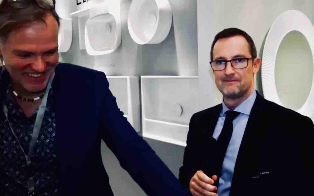 """""""Hier geht's nicht nur ums reine Volumen"""" TV-Interview mit dem Laufen-Deutschland-Chef Oliver Held"""