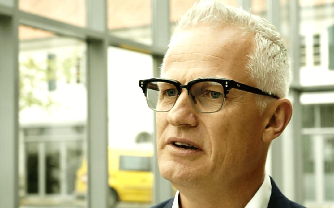 """""""Die 5,3 Prozent übertreffen"""" TV Interview mit Mads Nipper (CEO Grundfos)"""