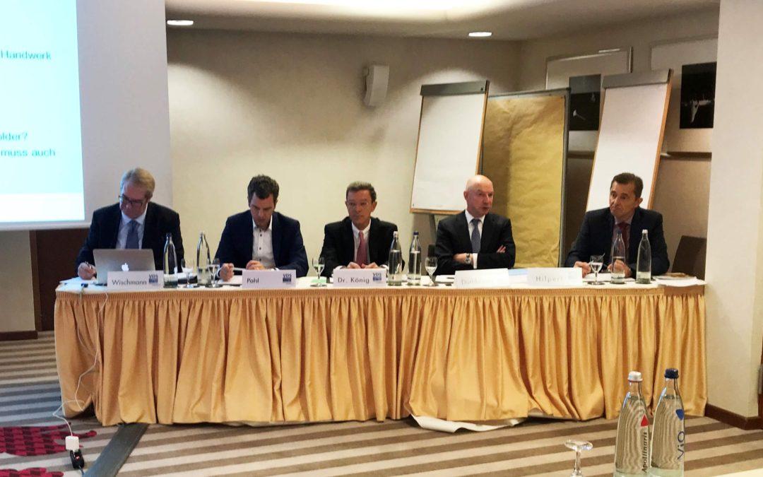 Tischparolen VDS kämpft mit erheblichen Kürzungen