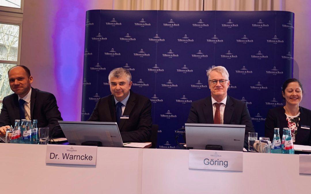 Bad treibt V&B Geschäft Reibungsverluste in München