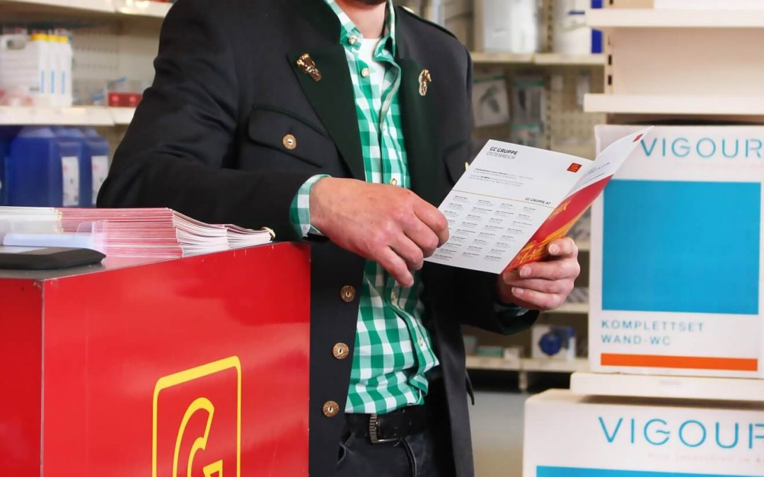 Filialnetz ausgebaut GC Gruppe Österreich