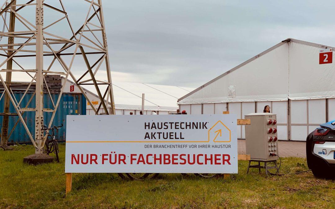 Falsch abbiegen ausgeschlossen GC Haustechnik-Show in Stuhr