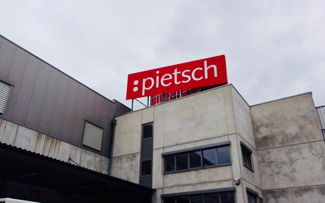 Ortung, Belieferung, Bestückung für 27,50 Neues Servicekonzept bei Pietsch