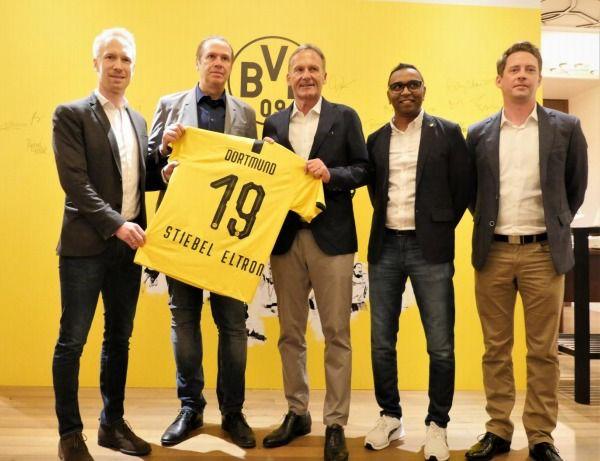 Stiebel kooperiert mit Borussia Internationalisierung