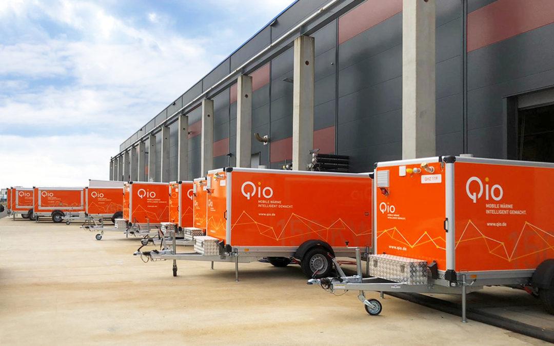 30 neue Heizzentrealen Qio wächst