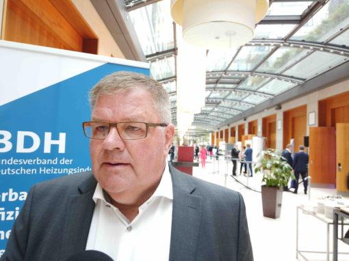 Die meisten Installateure sind noch aktiv Podcast mit dem BDH-Präsidenten Uwe Glock zur Coronakrise