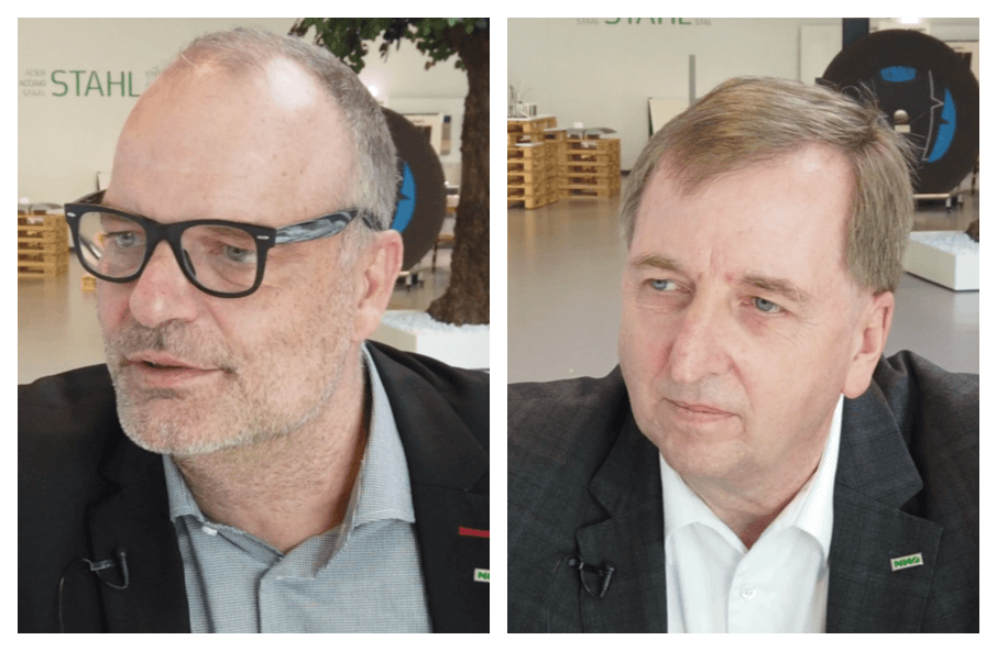 """Er fragt, wie es uns geht"" Interview mit dem Nordwest Vorstand A. Ridder/J. Simon"