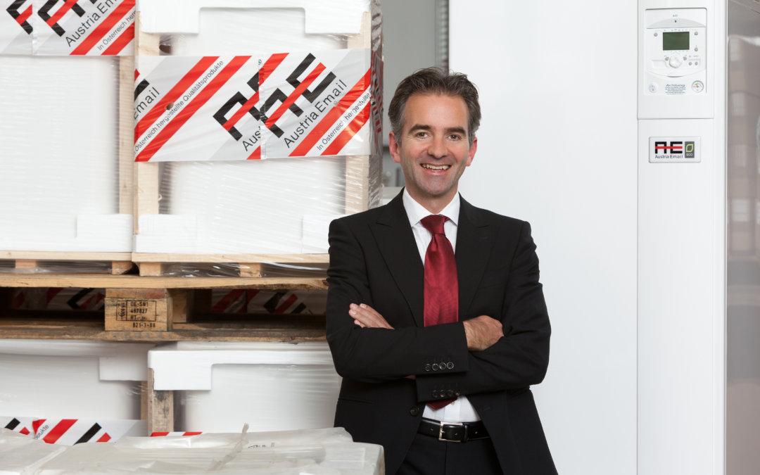 Baustellen waren leer gefegt Der Chef der Austria Email, Dr. Martin Hagleitner, im Corona-Podcasts