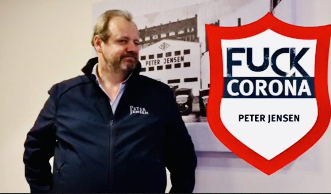 """""""Wir sind Peter Jensen"""" Video-Kampfansage von Martin Jensen gegen """"Fuck-Corona"""""""