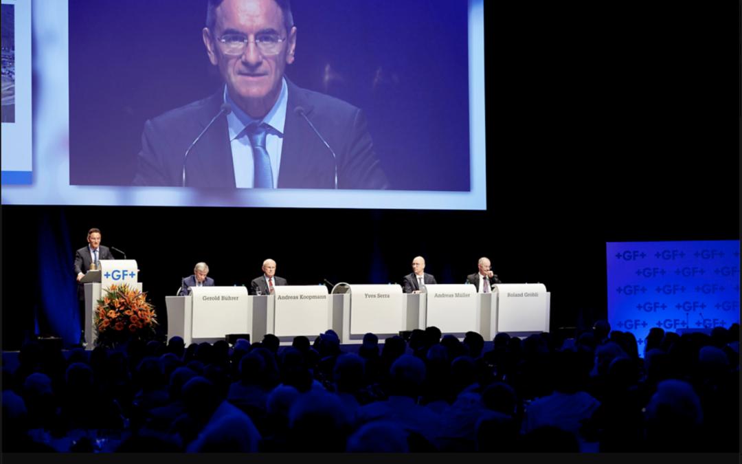 Georg Fischer meldet sich zurück Wieder auf Wachstumskurs